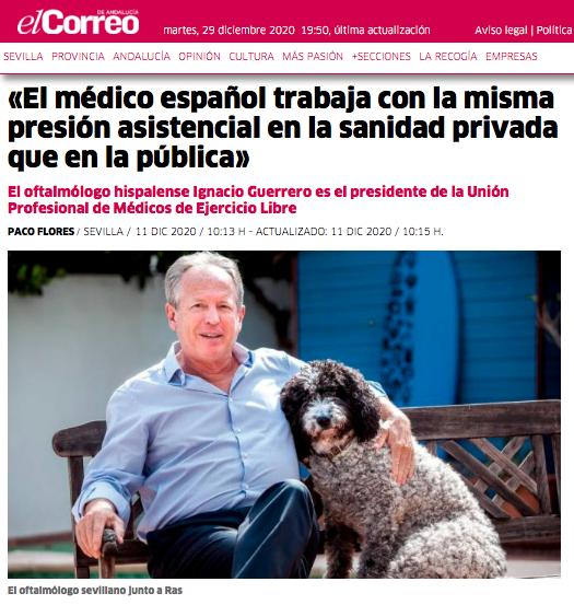 «El médico español trabaja con la misma presión asistencial en la sanidad privada que en la pública»
